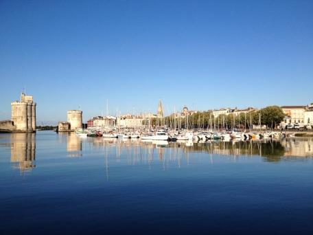 Harbor in La Rochelle, France