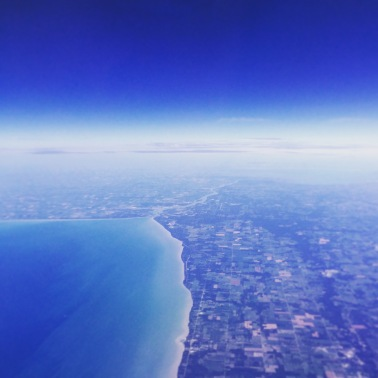 Flying over Sarnia/Port Huron