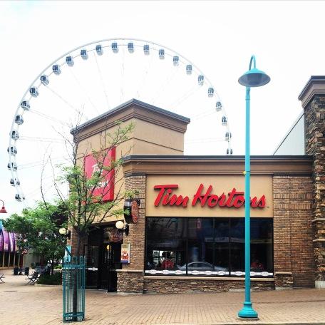 Tim Horton's in Niagara Falls