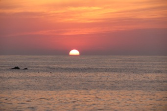 Sunset in Ixtapa, Mexico