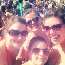 Spring break in South Padre with the college besties