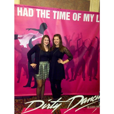 Got to see Dirty Dancing at the Orpheum thanks to Cities97 radio station!