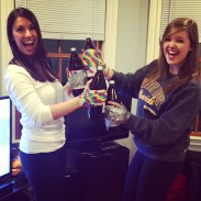 Successfully completed the Edward 40 Hands challenge with Lauren in Boston