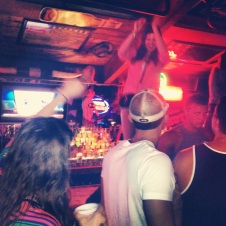 Danced on the bar at Coyote Ugly in Panama City Beach
