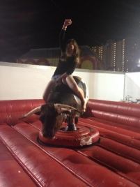 Rode the mechanical bull in South Padre.