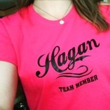 Love the Hagan tshirts!
