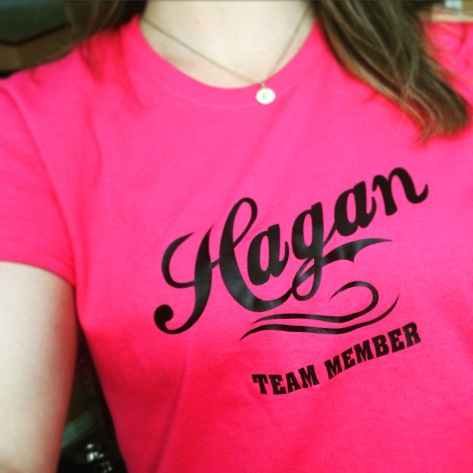 Love the Hagan tshirts!