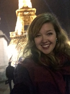 Spent our last night in Paris admiring the Eiffel tower, and toasting to our adventure with red wine at a cafe.